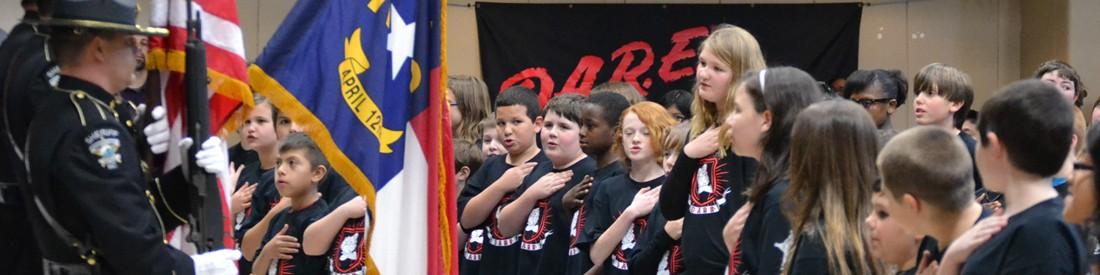D.A.R.E. Program Banner
