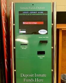 Lobby Deposit Kiosk