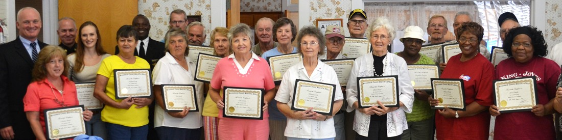 Senior Citizens Academy Banner