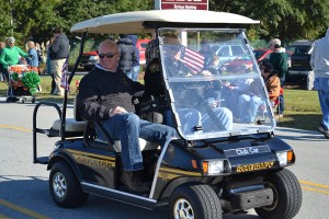 Sheriff Ingram in Parade