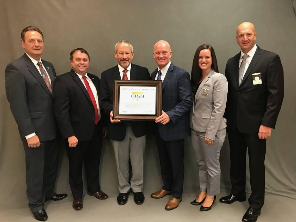 BCSO Awarded National Accreditation by CALEA | Brunswick County