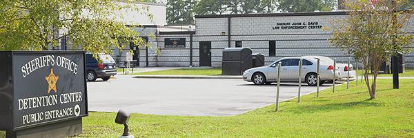 Detention Center Public Entrance