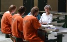 Inmates In G.E.D. Class
